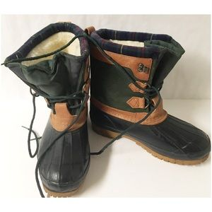 Thinsulate Duck Boots Size 8